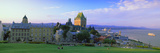 Grand Hotel in a City, Chateau Frontenac Hotel, Quebec City, Quebec, Canada Photographic Print by  Panoramic Images