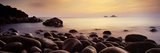 Sunset over the Ocean, Porth Nanven, Cornwall, England Photographic Print by  Panoramic Images