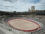 Ancient Amphitheater in a City, Arles Amphitheatre, Arles, Bouches-Du-Rhone, Provence-Alpes-Cote... Photographic Print