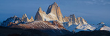 Low Angle View of Mountains, Mt Fitzroy, Argentine Glaciers National Park, Argentina Photographic Print by  Panoramic Images