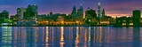 Buildings at the Waterfront, River Delaware, Philadelphia, Pennsylvania, USA Photographic Print by  Panoramic Images