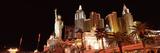 Low Angle View of a Hotel, New York New York Hotel, the Strip, Las Vegas, Nevada, USA Papier Photo par  Panoramic Images