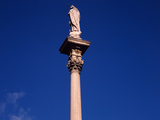 Low Angle View of a Column, Sopron, Hungary Photographic Print
