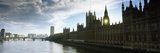 Houses of Parliament at the Waterfront, Thames River, London, England Photographic Print by  Panoramic Images