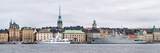 Buildings at the Waterfront, Gamla Stan, Stockholm, Sweden Photographic Print by  Panoramic Images