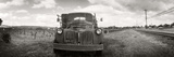 Panoramic Images - Old Truck in a Field, Napa Valley, California, USA Fotografická reprodukce