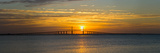 Sunrise over Sunshine Skyway Bridge, Tampa Bay, Florida, USA Photographic Print by Panoramic Images 