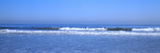 Surfer Riding a Wave in the Sea, Santa Monica, Los Angeles County, California, USA Photographic Print by  Panoramic Images
