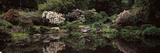 Lily Pond in a Garden, Oriental Garden, Shore Acres State Park, Coos Bay, Oregon, USA Photographic Print by  Panoramic Images
