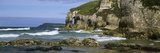 Rock Formations on the Beach, Whiterocks Beach, Portrush, County Antrim, Northern Ireland Photographic Print by  Panoramic Images