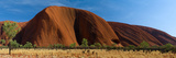 Sandstone Rock Formations, Uluru, Northern Territory, Australia Photographic Print by Panoramic Images