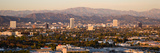 Buildings in a City, Miracle Mile, Hayden Tract, Hollywood, Griffith Park Observatory, Los Angel... Lámina fotográfica por Panoramic Images,
