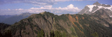 Mountain Range Viewed from Artist Ridge, Mt Shuksan, North Cascades National Park, Whatcom Count... Photographic Print by  Panoramic Images