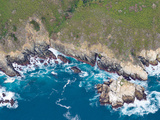 Aerial View of a Coast, Big Sur, Monterey County, California, USA Photographic Print by  Panoramic Images