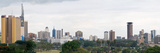 Skyline in a City, Nairobi, Kenya Photographic Print by  Panoramic Images