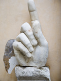 Hand from the Colossal Statue of Constantine, Capitoline Museums, Rome, Lazio, Italy Photographic Print