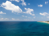 Island in the Sea, Costa Del Sol, Torre Di Chia, Sulcis, Sardinia, Italy Photographic Print by  Panoramic Images