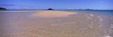 High Angle View of a Beach, Sandy Point, Brampton Island, Whitsunday Islands, Queensland, Australia Photographic Print by  Panoramic Images