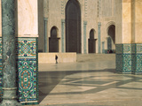 Interiors of a Mosque, Mosque Hassan Ii, Casablanca, Morocco Photographic Print