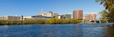 Buildings at the Waterfront, Connecticut River, Hartford, Connecticut, USA Photographic Print by  Panoramic Images