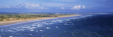 High Angle View of a Beach, Saunton Sands, Saunton, North Devon, Devon, England Photographic Print by  Panoramic Images