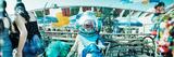 Coney Island Mermaid Parade, Coney Island, Brooklyn, New York City, New York State, USA Photographie par  Panoramic Images