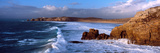 Surf on the Beach, Crozon Peninsula, Finistere, Brittany, France Fotografiskt tryck av Panoramic Images,