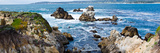 Rock Formations on the Coast, Point Lobos State Reserve, Carmel, Monterey County, California, USA Photographic Print by  Panoramic Images