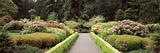 Flowers in a Garden, Shore Acres State Park, Coos Bay, Oregon, USA Photographic Print by  Panoramic Images