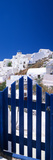 Houses in a Town, Oia, Santorini, Cyclades Islands, Greece Photographic Print by Panoramic Images
