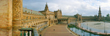Recently Restored Palace, Plaza De Espana, Seville, Andalusia, Spain Photographic Print by  Panoramic Images