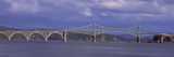 Bridge across the River, Conde B. McCullough Memorial Bridge, Coos Bay, North Bend, Oregon, USA Photographic Print by  Panoramic Images