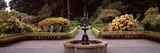 Fountain in a Garden, Shore Acres State Park, Coos Bay, Oregon, USA Photographic Print by  Panoramic Images