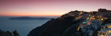 Village on a Cliff, Firostefani, Santorini, Cyclades Islands, Greece Photographic Print by  Panoramic Images