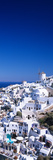 Aerial View of Houses in a Town, Oia, Santorini, Cyclades Islands, Greece Photographic Print by Panoramic Images