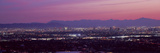 Cityscape at Sunset, Phoenix, Maricopa County, Arizona, USA 2010 Photographic Print by  Panoramic Images