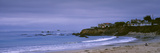 Beach at Dusk, Cayucos State Beach, Cayucos, San Luis Obispo, California, USA Photographic Print by  Panoramic Images