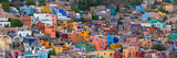 High Angle View of Buildings in a City, Guanajuato, Mexico Fotografie-Druck von  Panoramic Images