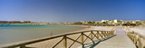 Pier on the Beach, Soma Bay, Hurghada, Egypt Photographic Print by  Panoramic Images