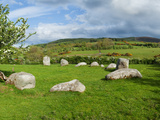 Piper&#39;s Stone, Bronze Age Stone Circle (1400-800 BC) of 14 Granite Boulders, Near Hollywood, Cou... Photographic Print by Panoramic Images 