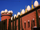 Low Angle View of a Museum, Salvador Dali Museum, Figueres, Barcelona, Catalonia, Spain Photographic Print