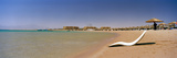 Chaise Longue on the Beach, Soma Bay, Hurghada, Egypt Photographic Print by  Panoramic Images