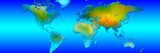 World Map Photographic Print by  Panoramic Images