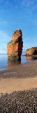 Pebbles on the Beach, Ladram Bay, Devon, England Photographic Print by  Panoramic Images