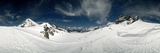 Low Angle View of a Glacier, Aletsch Glacier, Jungfraujoch, Berne Canton, Switzerland Photographic Print by  Panoramic Images