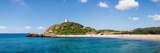 Torre Di Chia with the Saracen Tower at the Costa Del Sud, Sulcis, Sardinia, Italy Photographic Print by  Panoramic Images
