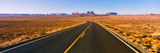 Road Passing Through a Desert, Monument Valley, Arizona, USA Photographic Print by Panoramic Images