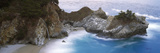 Rocks on the Beach, McWay Falls, Julia Pfeiffer Burns State Park, Monterey County, Big Sur, Cali... Photographic Print by  Panoramic Images