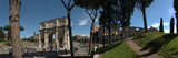 Historic Coliseum and Arch of Constantine, Rome, Lazio, Italy Photographic Print by  Panoramic Images