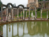 Reflecting Pool in Hadrian&#39;s Villa, Tivoli, Lazio, Italy Photographic Print by Panoramic Images 